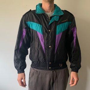 Vintage 90s Descente Windbreaker/ski jacket in M